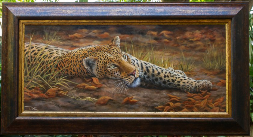 Painting leopards- a personal favorite!!