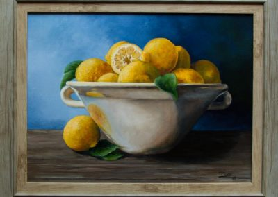 Lemons in Ceramic